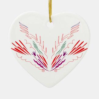 Entwurfs-Mandalas auf Weiß Keramik Ornament