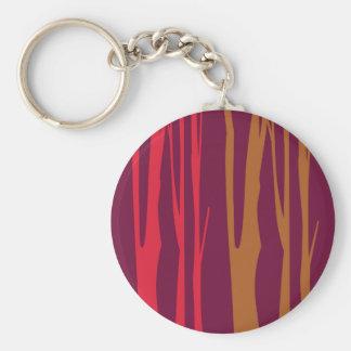 ENTWURFS-SCHLAFZIMMER handgemalte Bäume Schlüsselanhänger
