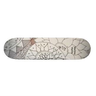 Entwurfs-Skateboard Skateboarddecks