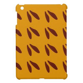 Entwurfsbohnen auf Gold iPad Mini Hülle