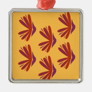 Entwurfselement-Azteken Gold Silbernes Ornament