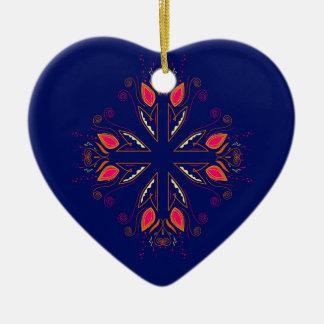 Entwurfselement-Blau VÖLKER Keramik Ornament
