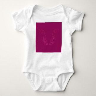 Entwurfselement-Wein ethno Baby Strampler