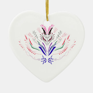 Entwurfselement-Weiß Völker Keramik Ornament