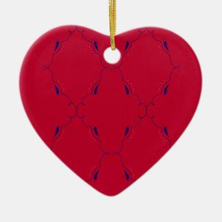 Entwurfselemente rote blaue Völker Keramik Ornament