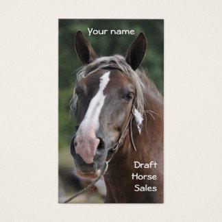 EntwurfspferdeVisitenkarte Visitenkarte