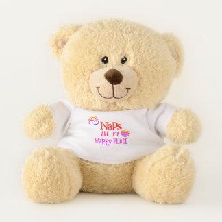 Entzückend: Nickerchen sind mein glücklicher Platz Teddybär