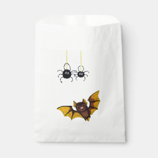 Entzückende braune Fledermaus Halloweens Mit 2 Geschenktütchen