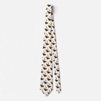 Entzückende braune Fledermaus Halloweens Mit 2 Personalisierte Krawatten