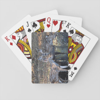 Entzückende gepunktete Kitz-Spielkarten Spielkarten