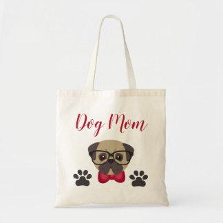 Entzückende Hundemamma-Tasche mit Bowtie u. Tragetasche