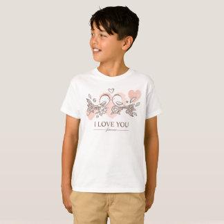 Entzückende Lovebirds in LiebeValentine Tagless T-Shirt