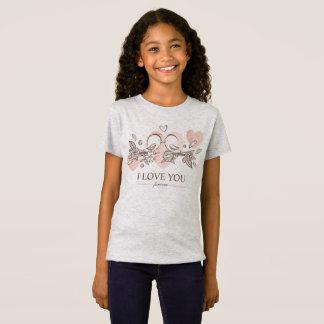 Entzückende Lovebirds in T-Shirt
