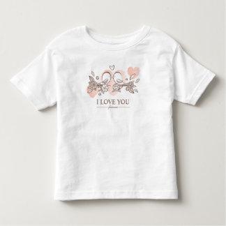 Entzückende Lovebirds Shirt im Liebevalentine-|