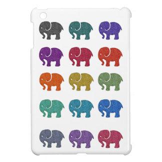 Entzückende nette bunte niedliche Elefanten iPad Mini Hülle