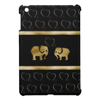 Entzückende nette Elefanten in der Liebe iPad Mini Hülle