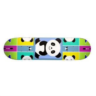 Entzückende Panda-Bärn-helle Farben Individuelle Skateboarddecks