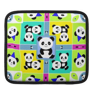Entzückende Panda-Bärn-helle Farben Sleeve Für iPads