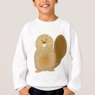 Entzückende Tierzeichnungen: Biber Sweatshirt