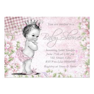 Entzückende Vintage rosa Baby-Dusche