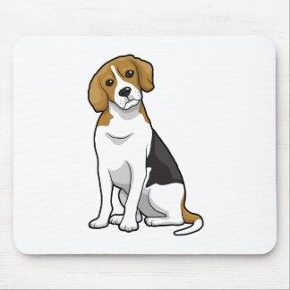 Entzückender Beagle Mauspad
