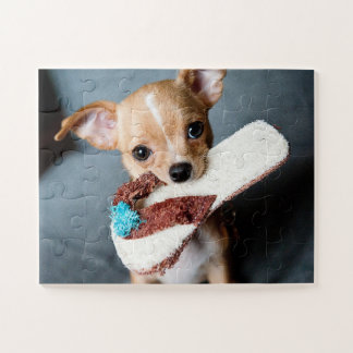 Entzückender Chihuahua-Welpe Puzzle