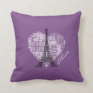 Entzückender Eiffel Turm Liebe-Paris   Kissen