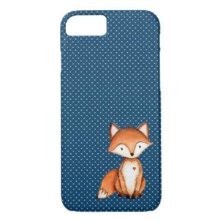 Entzückender Fox-Wasser-Farbtelefon-Kasten iPhone 8/7 Hülle