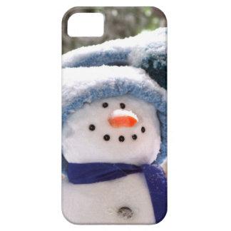 Entzückender handgemachter Schneemann iPhone 5 iPhone 5 Etui