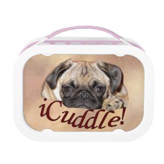 Entzückender iCuddle Mops-Welpe Brotdose