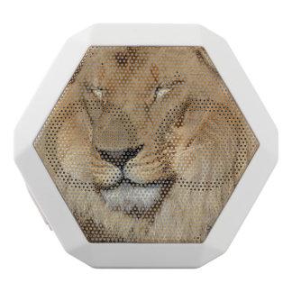 Entzückender Löwe Weiße Bluetooth Lautsprecher