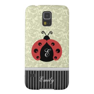 Entzückender moderner niedlicher Marienkäfer Galaxy S5 Hülle