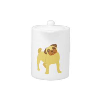 Entzückender Mops-Hund