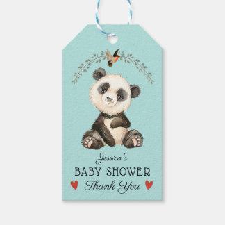 Entzückender Panda-Bär danken Ihnen zu bevorzugen Geschenkanhänger