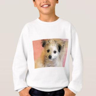 Entzückender schlaffer Ohr-Rettungs-Welpe Sweatshirt
