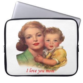 Entzückendes Geschenk für den Tag der Mutter Laptop Schutzhüllen