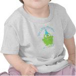 Entzückendes kleines Monster-erster Geburtstags-T  Hemd