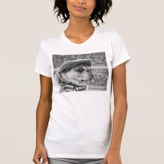 Entzückendes Mopst-shirt mit inspirational Zitat T-Shirt