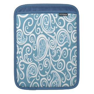 Entzückendes nettes reizend Babyblau paisly Sleeve Für iPads