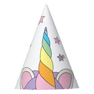 Entzückendes Unicorn-Horn kleiden oben Party-Hüte Partyhütchen