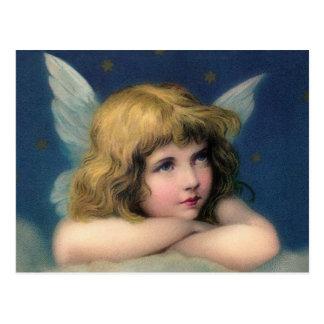 Entzückendes WeihnachtsVintager Engel Postkarte