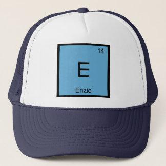 Enzio Namenschemie-Element-Periodensystem Truckerkappe