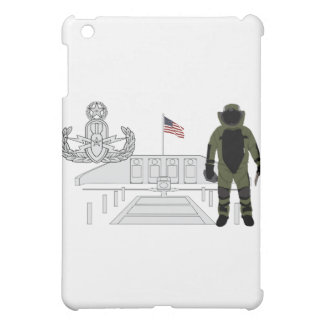 Eod-Vorlagenerinnerungsbombe Suituit iPad Mini Hülle