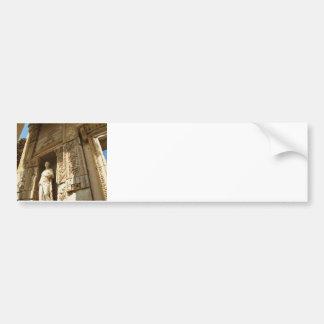 Ephesus die Türkei - Celsiusbibliothek bei Ephesus Autoaufkleber