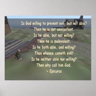 epicurus poster