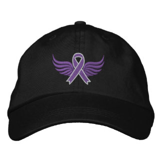 Epilepsie-Band-Flügel Baseballcap