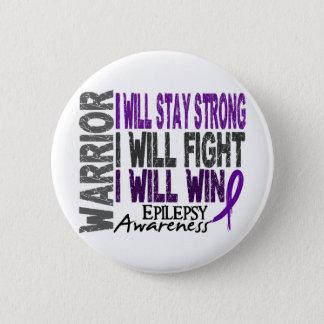 Epilepsie-Krieger Runder Button 5,1 Cm