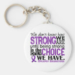 Epilepsie, wie stark wir sind standard runder schlüsselanhänger
