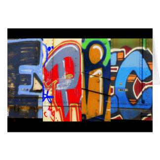 Epische Graffiti-Geburtstags-Karte Karte