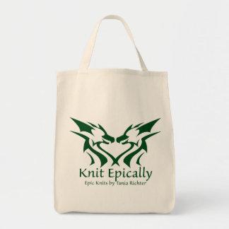 Epische Strick-Taschen-Tasche Einkaufstasche